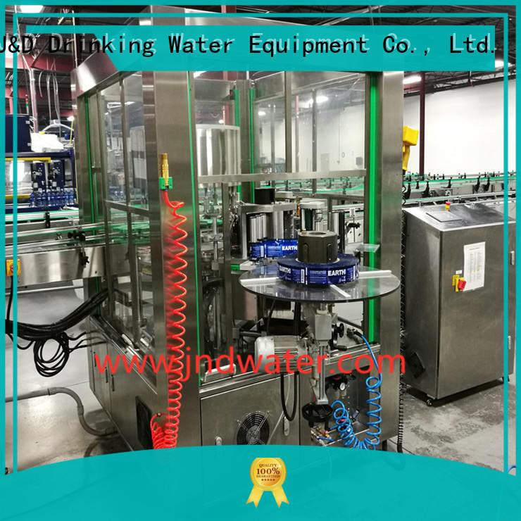 Quality J & D WATER Маркировочная машина для этикетирования бутылок с талой водой