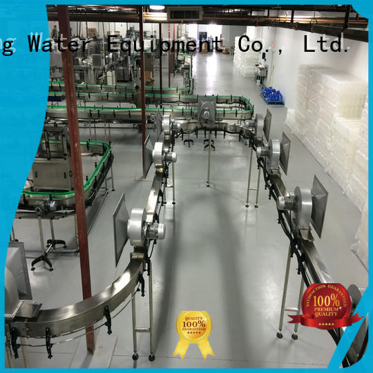 Customized bottle air conveyor stainless steel for food