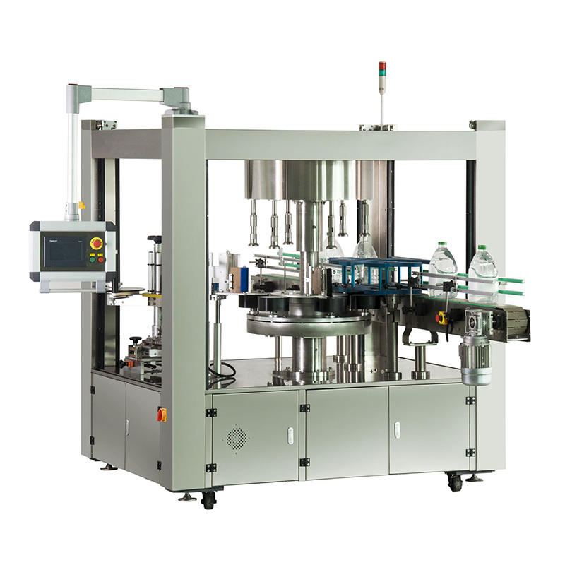 J&D WATER automatic sticker labeling machine reduce cost for metal container-2