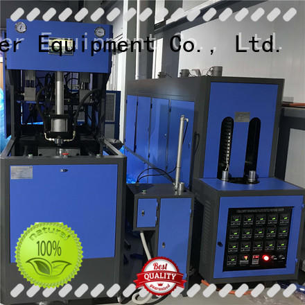 J&D WATER semi-automatic blow moulding machine Blowing for plastic bottle