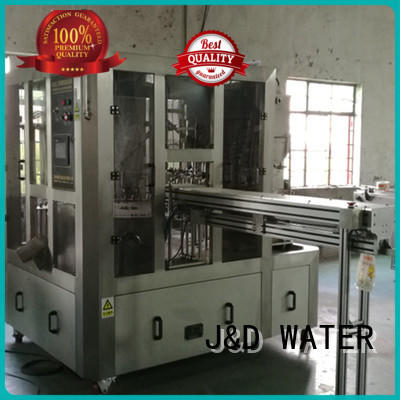 J&D WATER bagging machine stainless steel for hot infusion