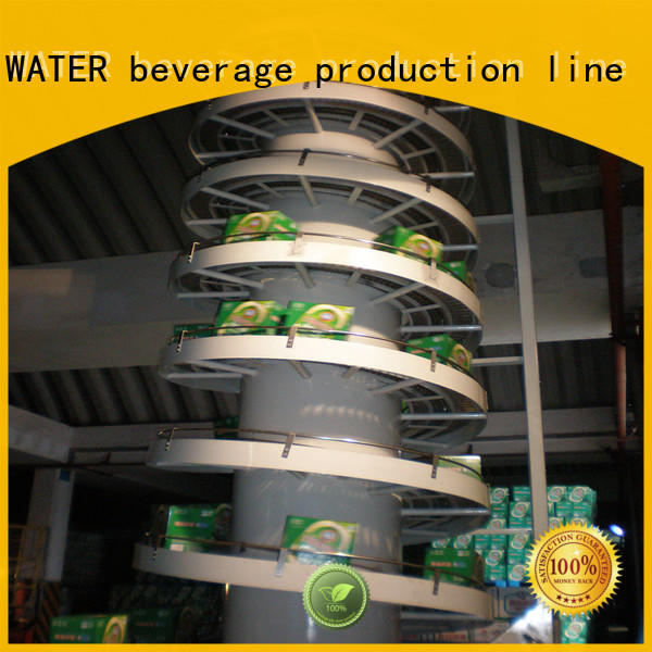J&D WATER chain conveyor stainless steel for beverage,
