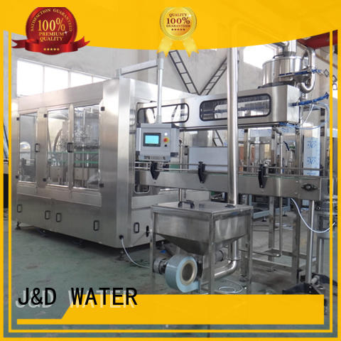 J&D WATER larger capacity bottle filling machine high automation for milk
