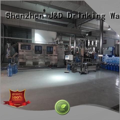 Wholesale filling bottling equipment J&D WATER Brand
