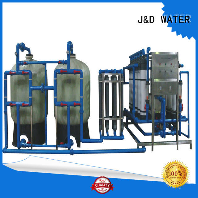 J&D WATER drinking water machine purifier for pharmaceutical for industry chemical processing