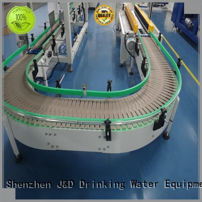 slat slat chain conveyor steel drinking J&D WATER