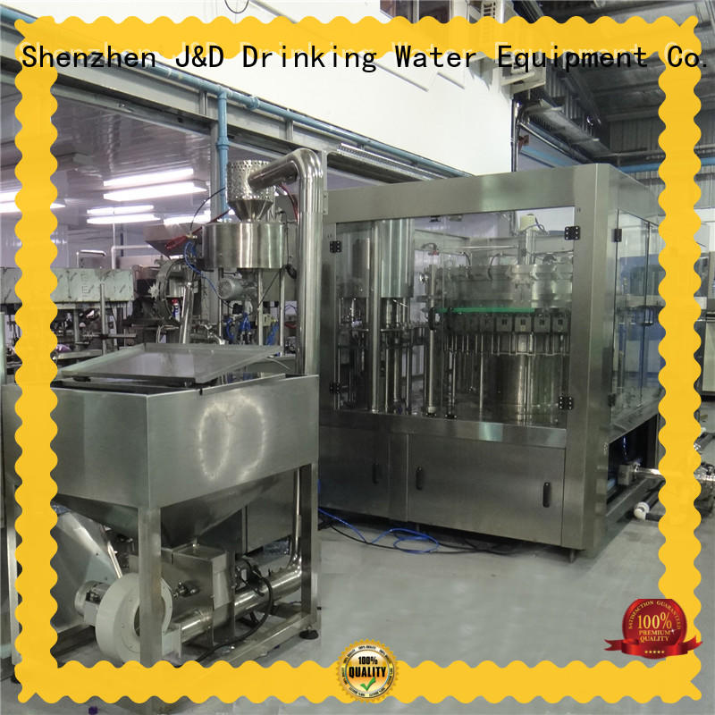 easy operation water bottling machine stainless steel for juice