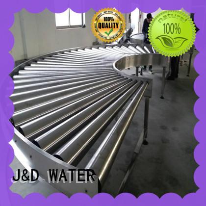 J&D WATER quick spiral conveyor high efficiency for food