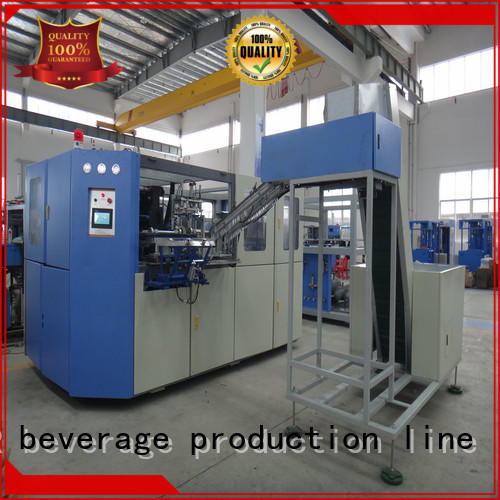 high quality pet blow moulding machine stable for hot infusion