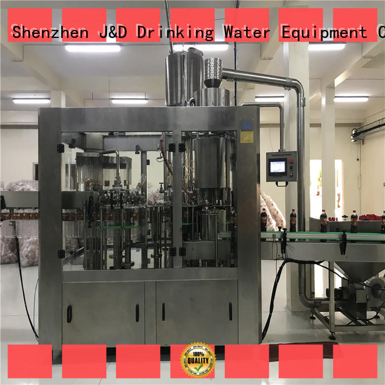 sale water bottling equipment high automation for PET J&D WATER