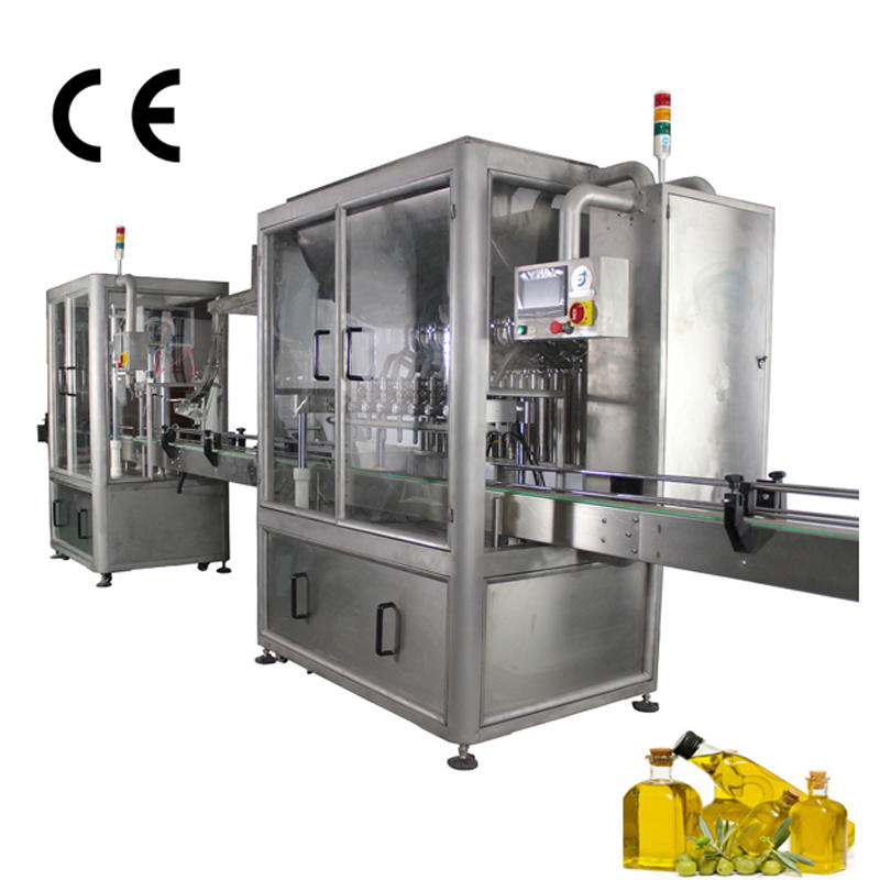 JD WATER-Jnd Series Automatic Olive Oil Filling Sealing Machine- JD WATER