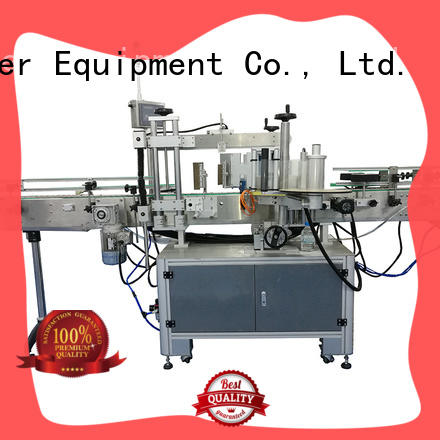 J&D WATER self adhesive labeling machine standard for metal container