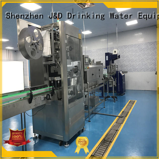 wine bottle labeling machine jndwater for metal container J&D WATER