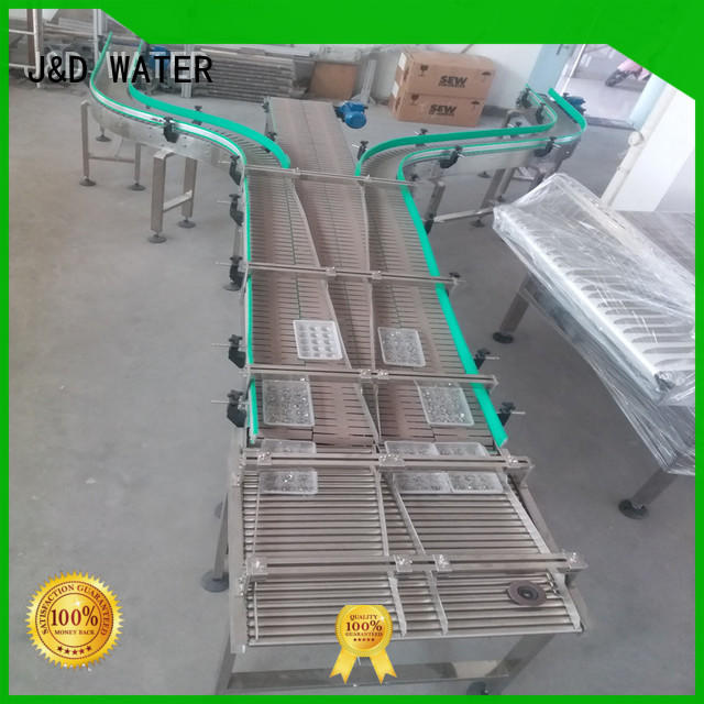 J&D WATER high quality chain conveyor high efficiency for drinking water