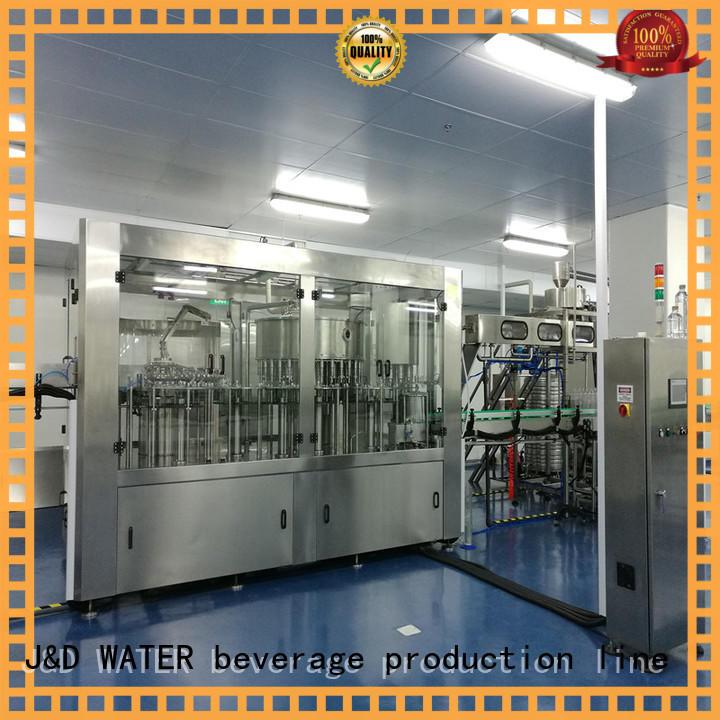 J&D WATER liquid packaging machine factory for milk