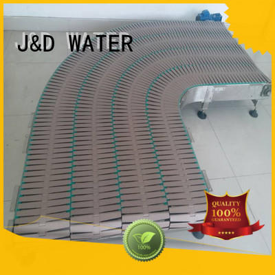easy operation slat conveyor stainless steel for food