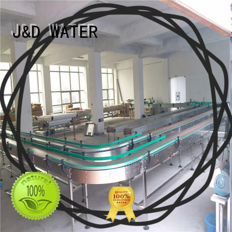 Customized chain conveyor stability for food