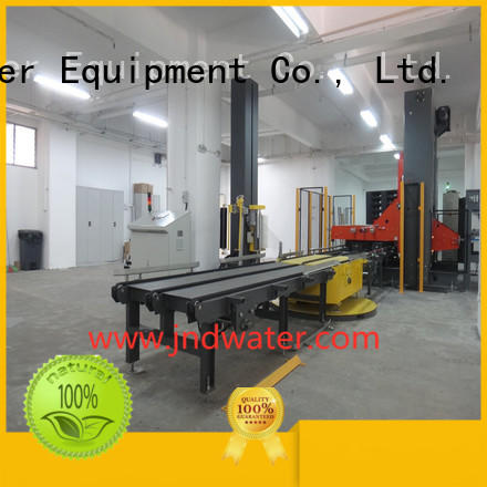 prestretch packing pallet wrapping machine wrapping J&D WATER Brand