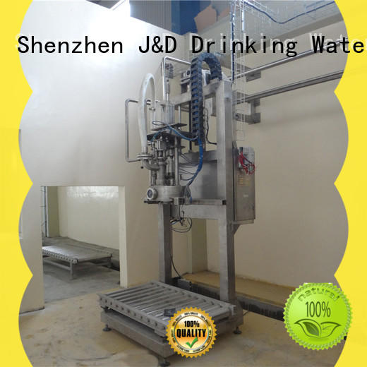 plastic bag sealing machine jndwater for package J&D WATER