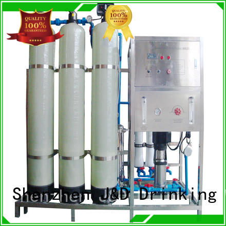 high quality reverse osmosis water filter system with Glass Tank for water treatment