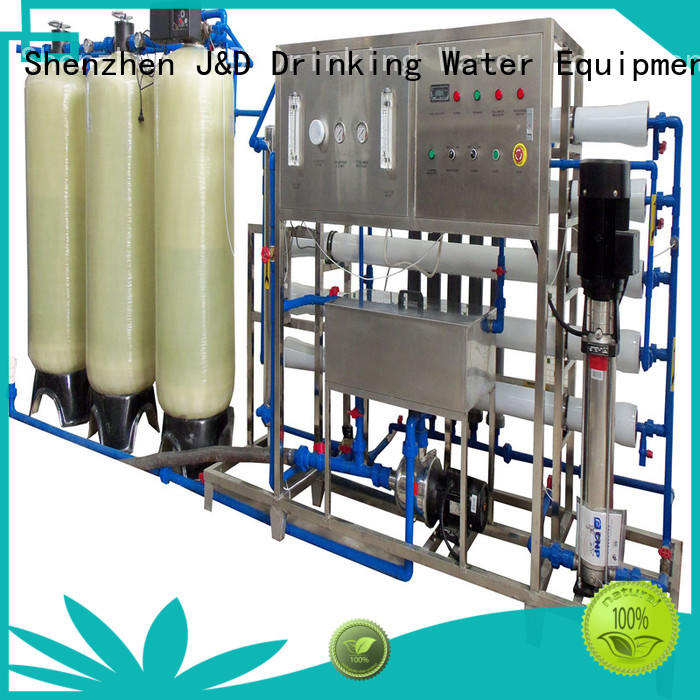 J&D WATER osmosis ro water machine manual wash pure water standrad