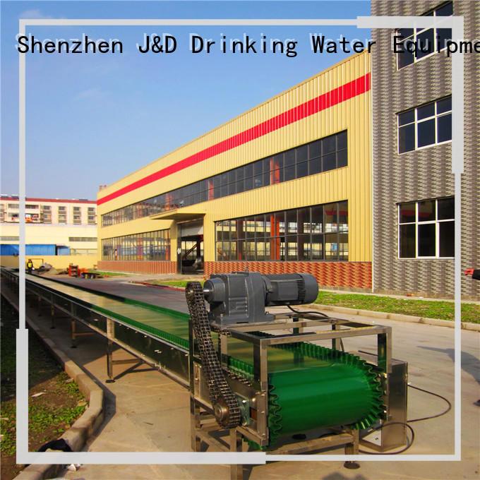 slat conveyor system for beverage, J&D WATER
