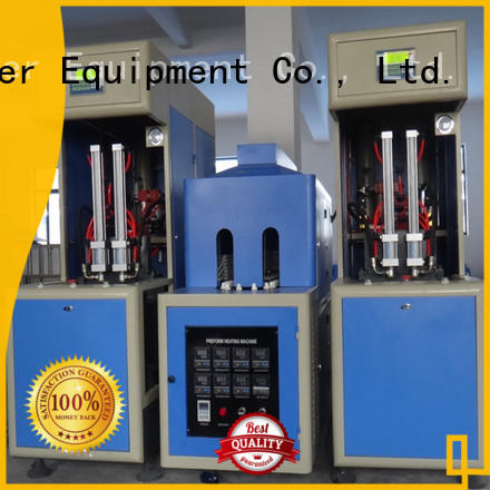 J&D WATER blow molding machinery safely for hot fill containers