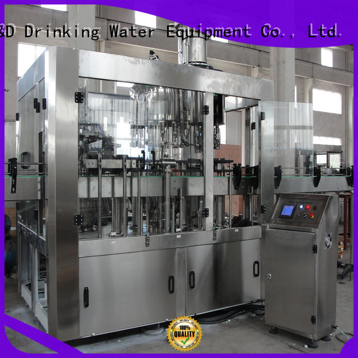 J&D WATER intelligent water bottling equipment convenient for tea