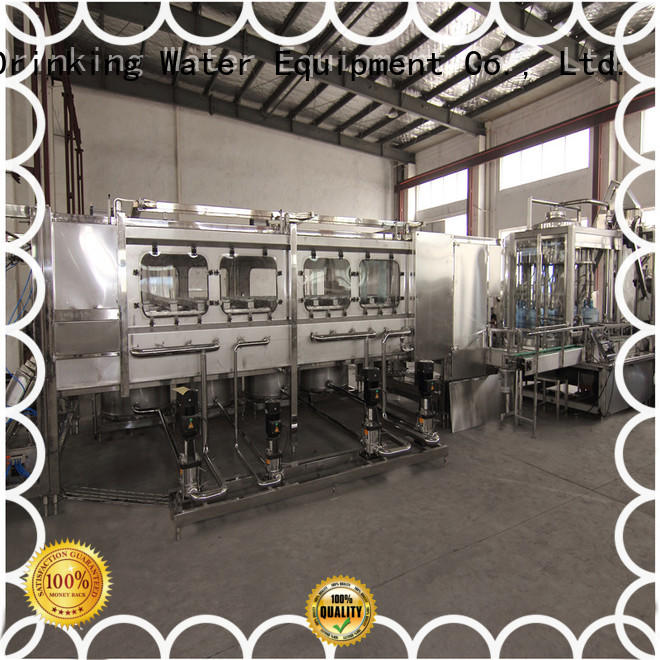 gallon capping machine bottling equipment J&D WATER Brand company