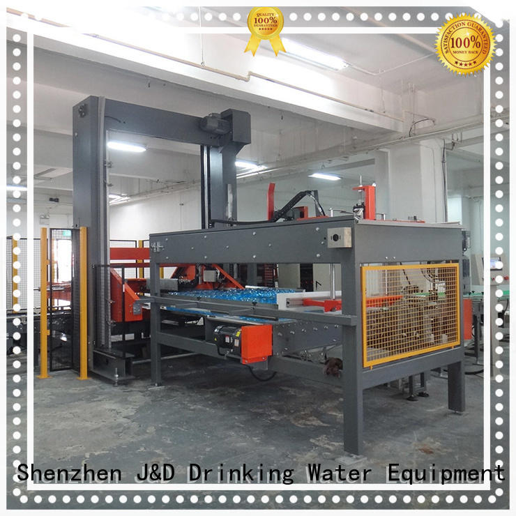 wrapping palletizer machine stable performance for food