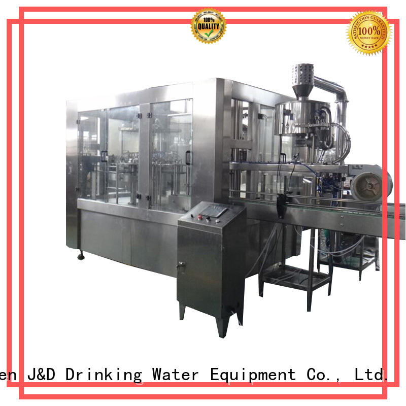 J&D WATER automatic liquid filling machine engineering for vinegar