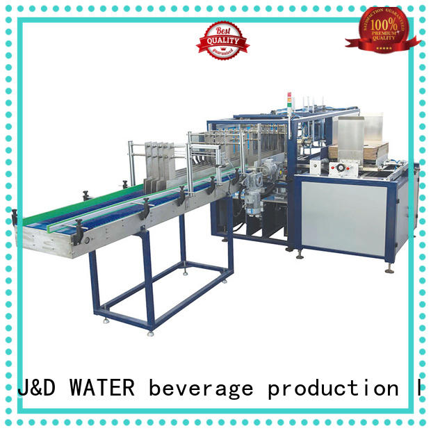 J&D WATER automatic carton wrapping machine for beverage