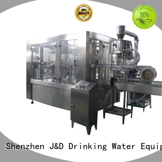 Качественная автоматическая разливочная машина J & D WATER