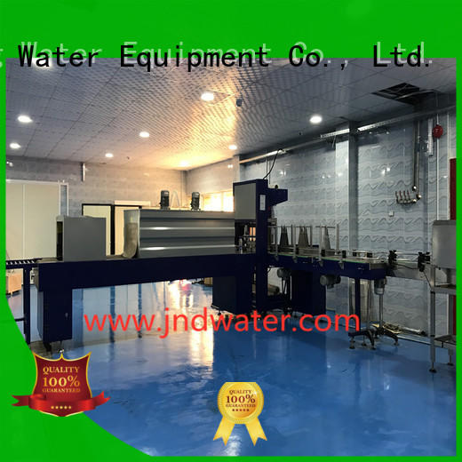 wrap automatic J&D WATER Brand shrink wrap machines for sale
