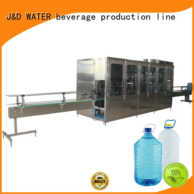 J&D WATER blow molding machines Stainless steel 304 for plastic bottle