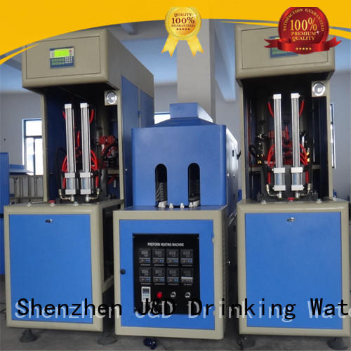 J&D WATER stretch blow moulding machine safely for cosmetics bottles