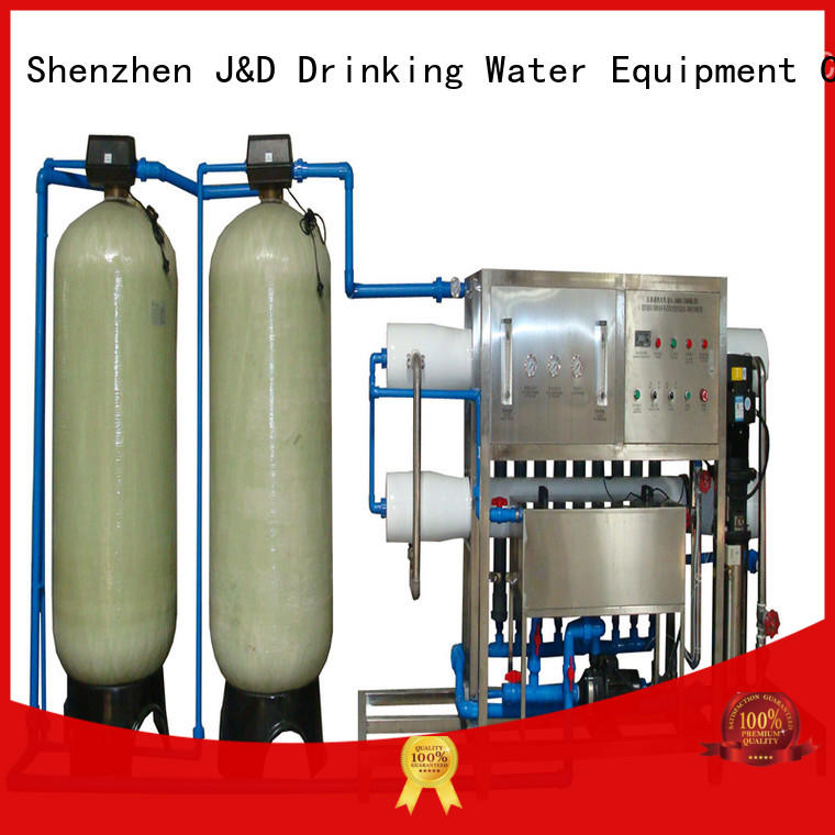 J&D WATER standrad reverse osmosis equipment auto wash for industrial waste treatment