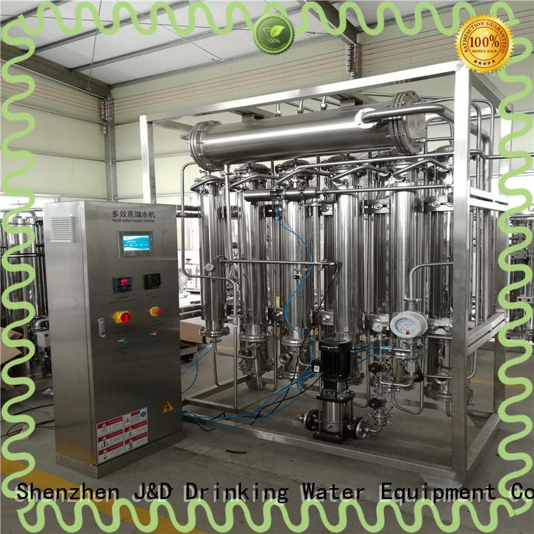 easy operation best water distiller high purity for pharmaceutical