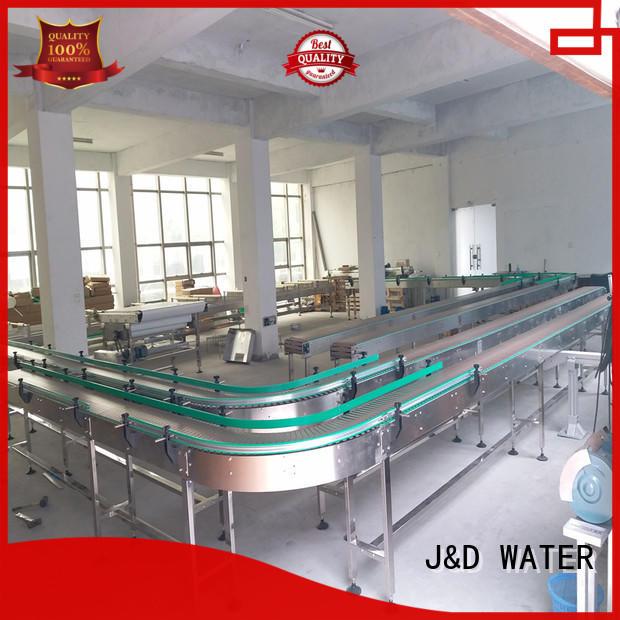 J&D WATER chain conveyor manufacturer for beverage,