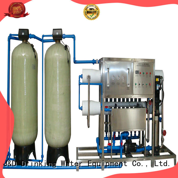 J&D WATER reverse osmosis machine auto wash for drinking water for treatment