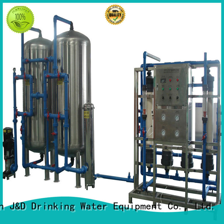 J&D WATER jndwater mineral water filter machine price filter food