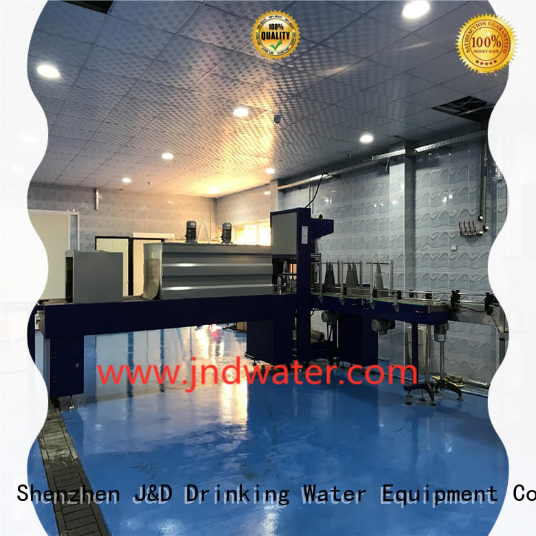 J&D WATER packaging breveager packing machine easy to operate for beverage