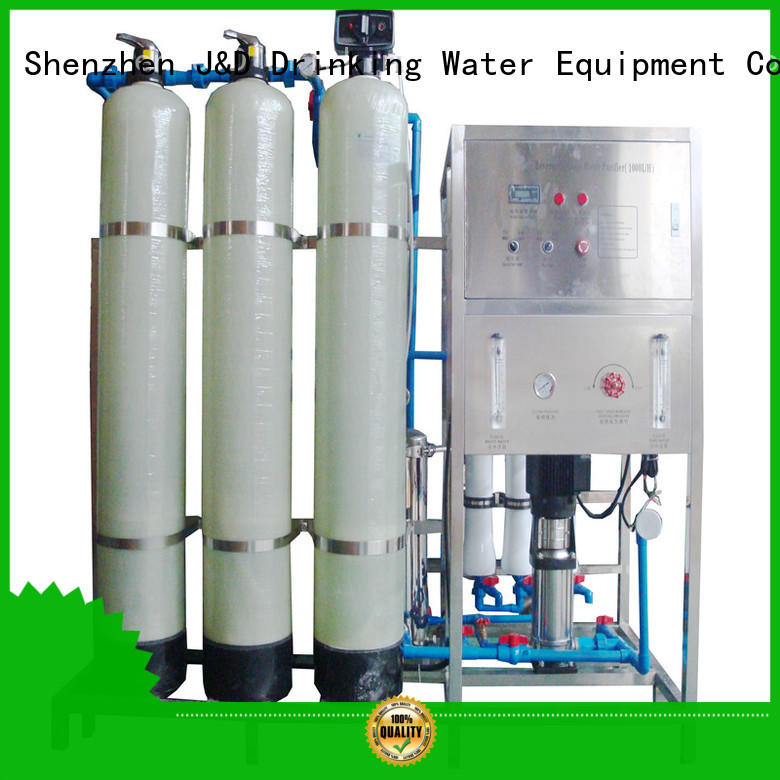 J&D WATER standrad osmosis machine manual wash for water treatment