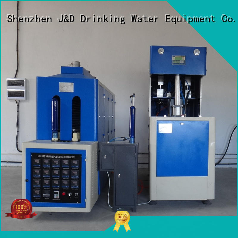J&D WATER blow molding machines CE standard for 1 Gallon