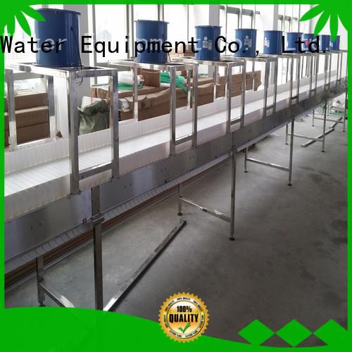 belts slat conveyor stability for food J&D WATER