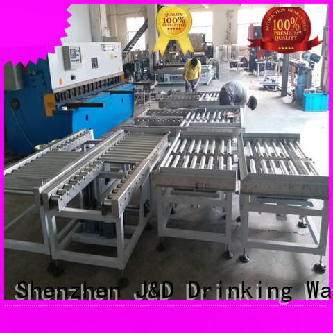 quick powered conveyor stability for food