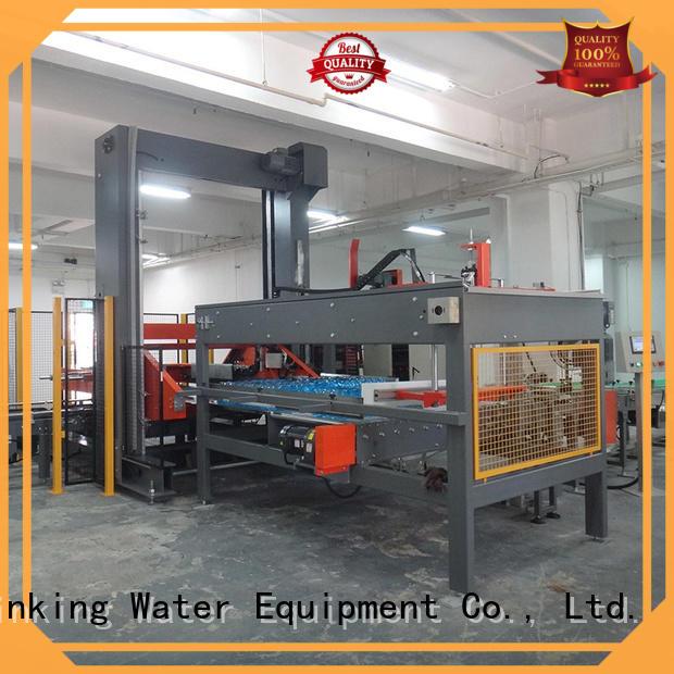 jndwater palletizer machine precise control for chemistry