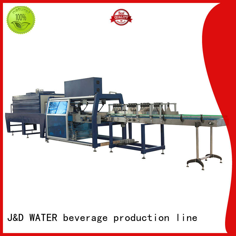 J&D WATER breveager packing machine high quality for food