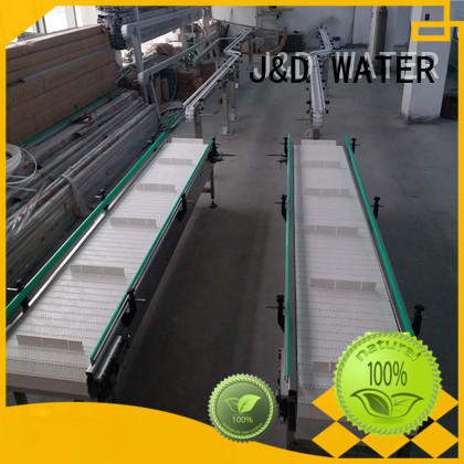 J&D WATER conveniently slat conveyor high efficiency for beverage,
