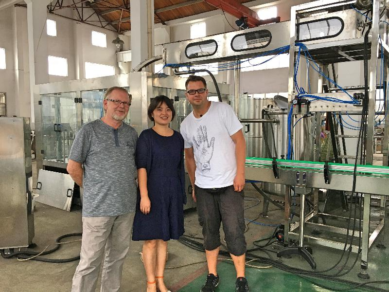 JD WATER-Polish Customers Come To Visit Our Factory | Customer Visit